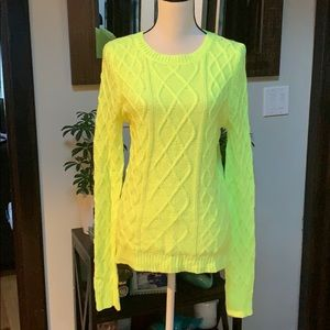 Forever 21 cable sweater